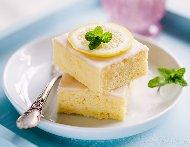 Вкусен лимонов сладкиш с бисквити, кокос и глазура с кондензирано мляко